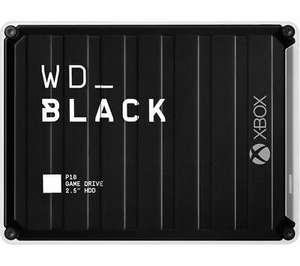 WD _BLACK P10 Game Drive for Xbox One - 5 TB Black - £99.74 with code delivered @ Currys / Ebay