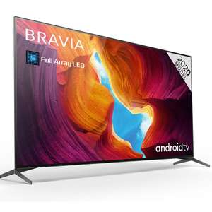 Sony XH9505 4K Full Array Ultra HD Android TV £1199 at spatial online with 5 year warranty