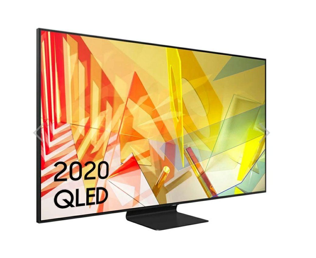 """SAMSUNG QE65Q90T 65"""" (2020) 4K QLED TV £1699 at spatial online"""