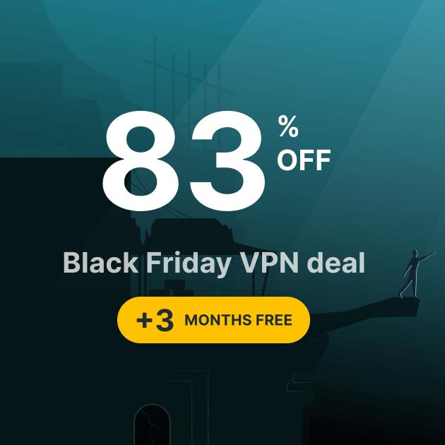 Surfshark VPN Holiday deal (£1.66 per month) + up to 80.5% TopCashback £44.76 @ Surfshark