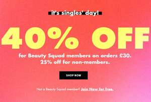 40% off e.l.f Cosmetics and skincare on £30 Spend Prices from £1.80 Delivery £2.95 free on orders over £25 @ e.l.f (Members Discount)