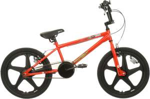 X-Rated Shockwave BMX bike in red with 20-inch mag wheels for £120 delivered @ Halfords