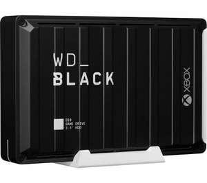 12 TB WD _BLACK D10 External Game Drive for Xbox One - 7200 rpm + 3 month membership Xbox Game Pass Ultimate £189.99 With Code @ Currys/eBay