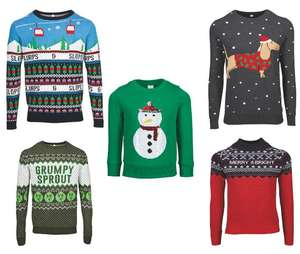 Christmas Jumpers Kids £5.99 Adults From From £7.99 instore from the 15th Pre- order online Now £2.95 Delivery Free over £30 From Aldi