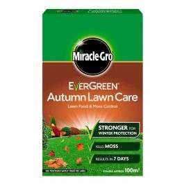 Evergreen Lawn Care Autumn treatment 100m2 £8.74 delivered @ Charlies