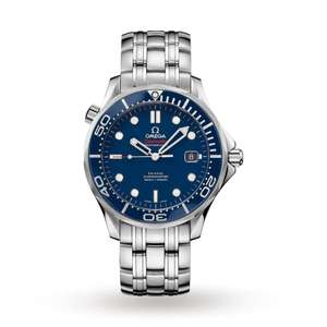 Omega Seamaster 300M 41mm Mens Divers Watch Blue Dial Mens Watch £2600 @ Mappin and Webb