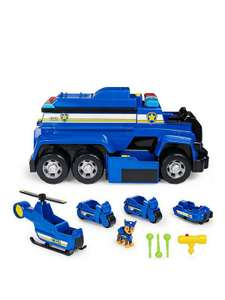 PAW Patrol 6058329 Chase's 5-in-1 Ultimate Police Cruiser £52.99 at Amazon