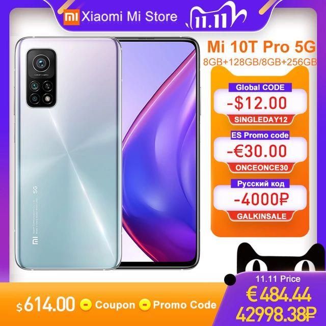 Xiaomi Mi 10t Pro 8GB/ 256GB Aurora Blue Global Version - £402.85 at Xiaomi Mi Store Aliexpress