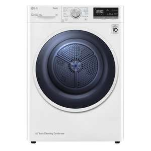 LG FDV309W Vivace Heat Pump 9kg Load Tumble Dryer A++ / 2 Year Warranty - £679 Delivered Using Code @ Hughes