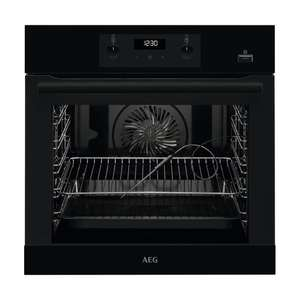 AEG Built-In SteamBake Electric Steam Oven - BES356010B - £309 Using Code @ Currys