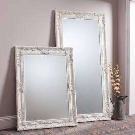 Gallery Hampshire Cream Leaner Mirror 170cm x 84cm for £101.15 delivered @ BrandAlley