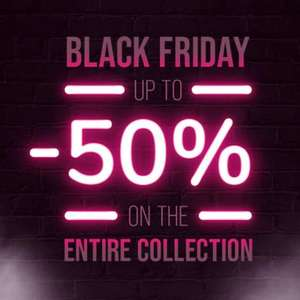 At least 25% Off, and up to 50% Off + Free delivery on £50 spend @ Hunkemoller