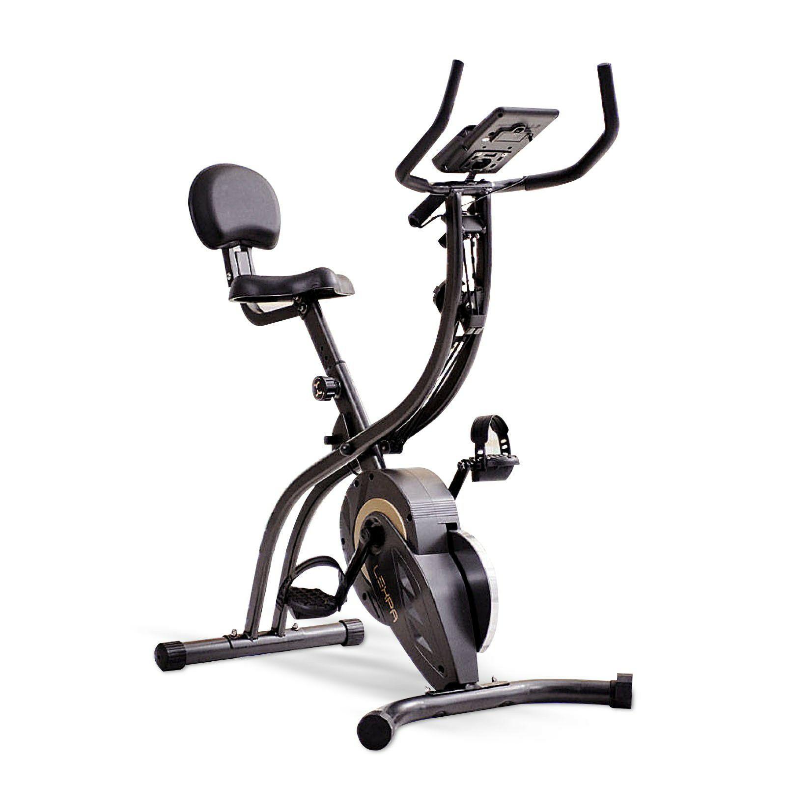 Lexpa YA-430 Folding Upright Exercise Bike £149 + £9.99 delivery @ Powerhouse fitness