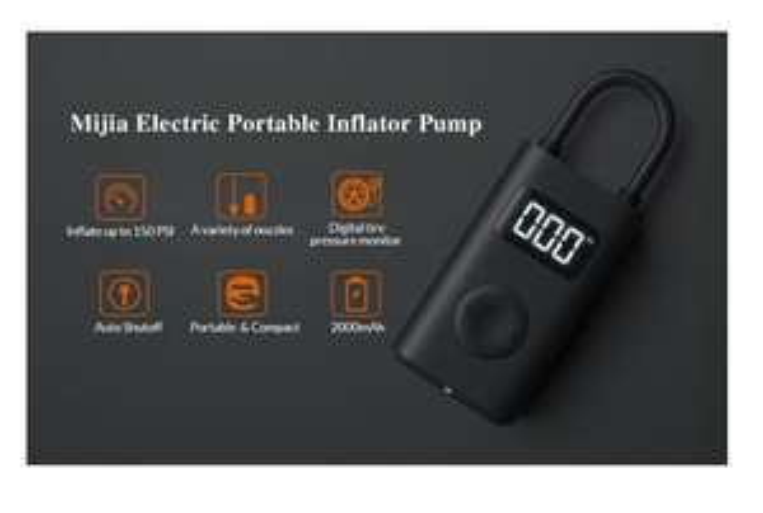 Xiaomi Battery Inflator Pump for Bikes/Cars/Football £28.53 @ Xiaomi MC Store / AliExpress -Via Spain 7 Day Shipping