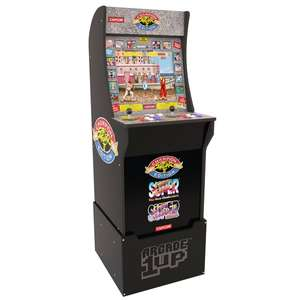 Arcade 1Up Streetfighter or Pacman with Riser - £280 (+£6.95 Postage) at Argos