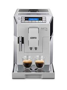 De'Longhi Eletta Cappuccino, Fully Automatic Bean to Cup Machine Espresso Coffee Maker ECAM 45.760.W, White £489.99 @ Amazon