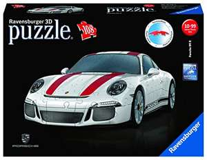 Ravensburger 108 Piece 3D Porsche Jigsaw Puzzle £14.99 (Prime) + £4.49 (non Prime) at Amazon