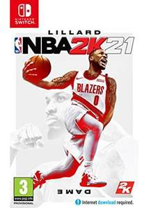 NBA 2K21 (Nintendo Switch) £29.85 delivered - physical edition @ Base