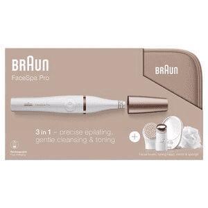 Braun FaceSpa Pro 922 Facial Epilator Beauty Gift Set - £69.99 @ Superdrug