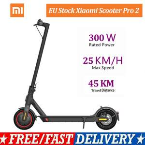Xiaomi Mi Electric Scooter Pro 2 - £338.10 delivered from EU @ DHgate / youpin_store