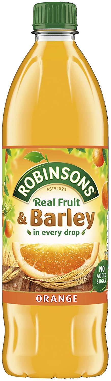 Robinson's fruit and barley grapefruit/peach/orange £1 1L @ Amazon (+£4.49 non-prime)