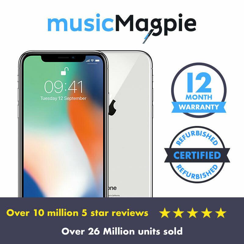 Apple IPhone X Good Condition Unlocked 64GB £314.63 w/code @ MusicMagpie / eBay