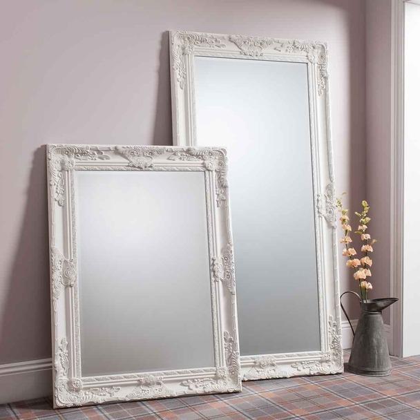 Gallery Hampshire Cream Leaner Mirror, Full Length 170 x 84 cm £69.99 @ Costco