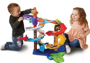 VTech Toot-Toot Drivers Twist & Race Tower, Racing Cars, Lights and Sounds, Musical Toy Race Track for Children £29.99 @ Amazon