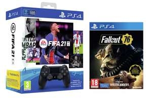 Sony PS4 Dualshock 4 Controller and FIFA 21 PS4 Game (Digital) Bundle + Fallout 76 Wastelanders £57.99 Free Click & Collect @ Argos