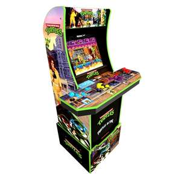 Arcade 1Up sale - Teenage Mutant Ninja Turtles Cabinet Including Riser £349.99 / Pac-Man, Mortal Combat, Street fighter 2 £279.99 @ Smyths