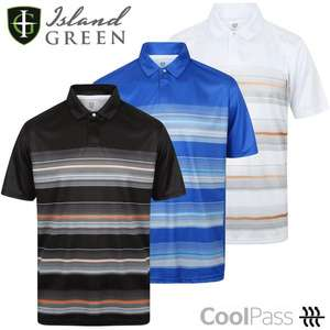 Island Green Performance Golf Polos - £4.99 / £7.98 delivered @ Just Golf Online