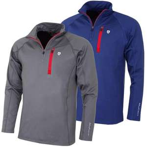 Island Green Mens Zip Breathable Mid Layer/Outerwear Lucky Dip, sizes M+L only - £8.99 / £11.98 delivered @ Just Golf Online