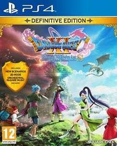 Dragon Quest XI S: Echoes of an Elusive Age Definitive Edition (PS4) £23.99 Delivered using code @ Boss Deals via eBay