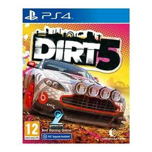 Dirt 5 PS4 with free PS5 Upgrade £37.56 / Xbox One + Series X £39.96 delivered using code @ TheGameCollection eBay