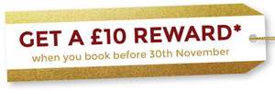 Free £10 voucher when you book before 30th November @ Farmhouse Inns