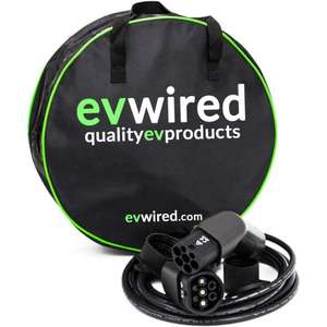 Electric Vehicle EV 5 metre cable Type 2 - £96.74 delivered using code @ Power Bulbs