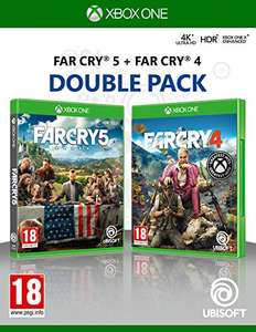 Far Cry 4 + Far Cry 5 (Xbox One) for £12.49 / +£2.99 (Non Prime) delivered @ Amazon