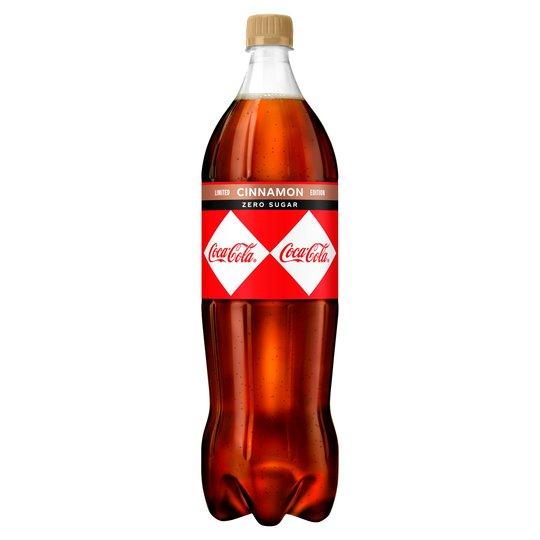 Coke Zero Cinnamon Limited Edition 1.25L @ Poundland (Tooting)
