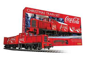 Hornby Coca Cola Christmas Train Set is £63.99 Delivered with Code @ IWOOT