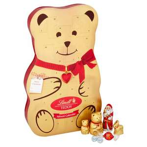 Lindt Teddy Chocolate Advent Calendar 310g - £12 delivered from Debenhams (with code)