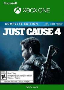 Just Cause 4 Complete edition (Xbox One uk) - £17.99 @ CDKeys