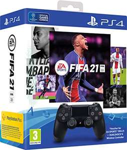 EA Sports Fifa 21 DualShock 4 Wireless Controller Bundle (PS4) £57.99 delivered at Amazon