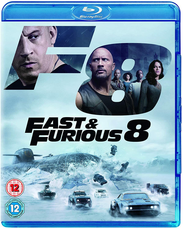 Fast and Furious 8 blu ray £2.49 (£2.99 p&p non prime) @ Amazon