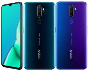 OPPO A9 2020 Snapdragon 665 6.5 inch 5000mAh Dual Sim 48MP Ultra Wide Quad Camera Smartphone, Space Purple/Marine Green - £149.99 @Oppo