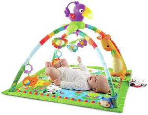Fisher-Price Rainforest Music & Lights Deluxe Baby Gym - £25 (free click + collect) @ Argos