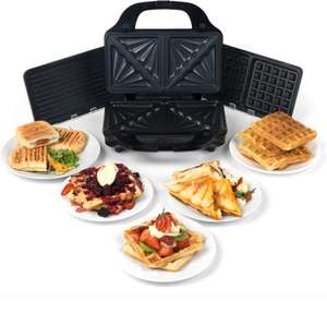 Salter 3-in-1 Deep Fill Sandwich and Waffle Maker at Robert Dyas for £24.99 (free C&C)