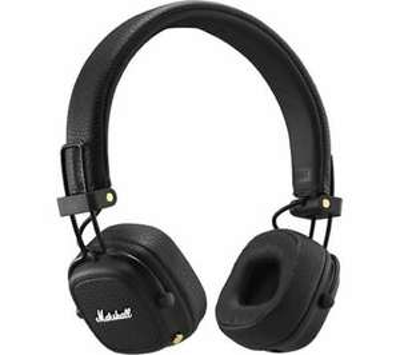 MARSHALL Major III Wireless Bluetooth Headphones - Black £49 delivered at Currys PC World eBay