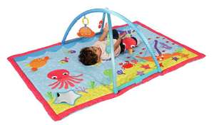Chad Valley Ocean Deluxe Baby Gym £15 free click and collect at Argos