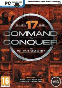 COMMAND AND CONQUER: THE ULTIMATE COLLECTION PC £2.99 at CD Keys