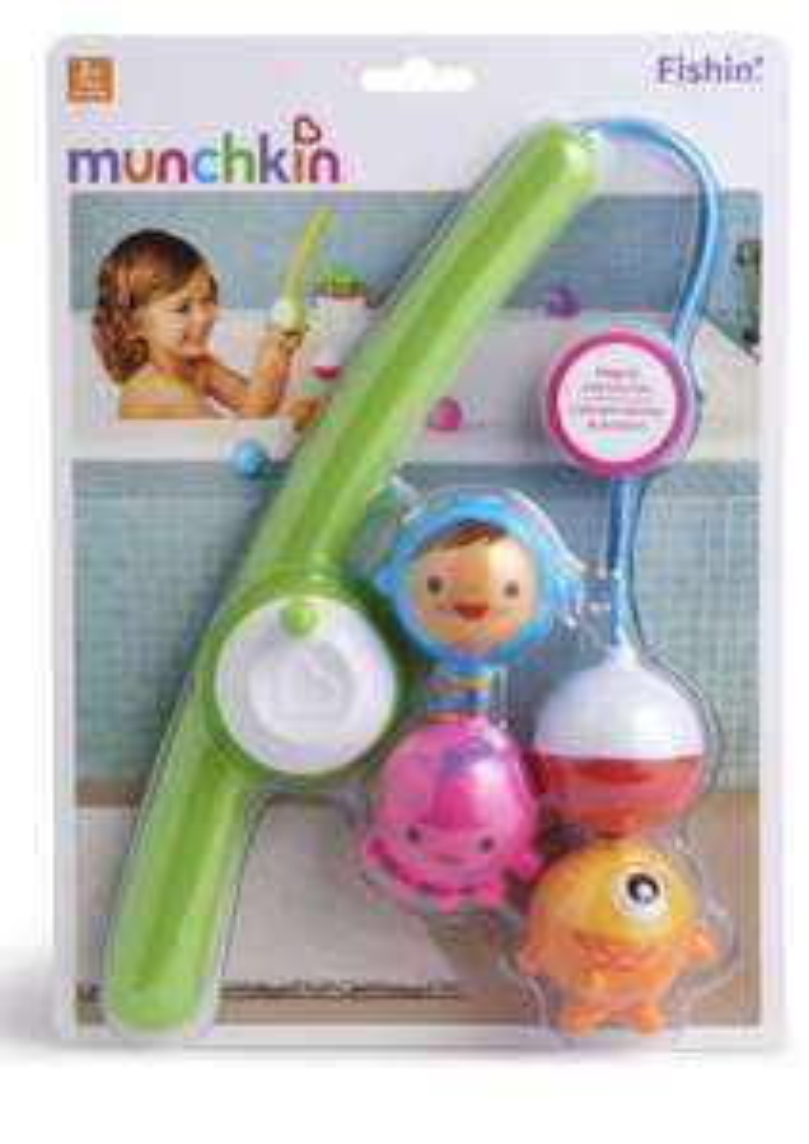 Munchkin Gone Fishin' baby bath toy £5.90 (+£4.49 Non Prime) @ Amazon